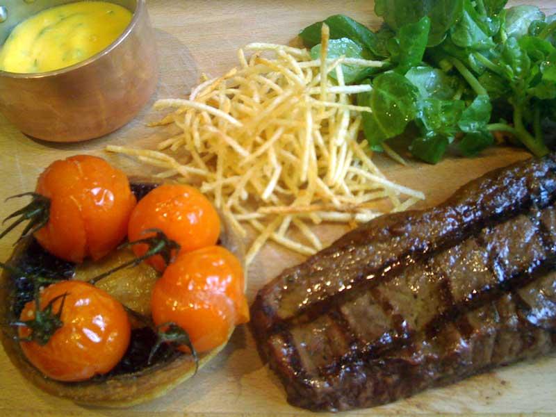 Langtry's Restaurant steak
