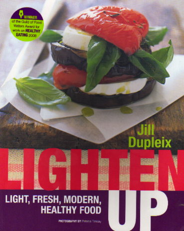 Lighten Up by Jill Dupleix – cookbook review