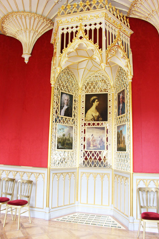 Strawberry Hill House gold