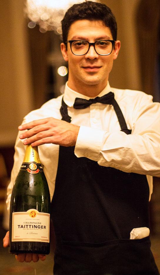 Luton Hoo waiter