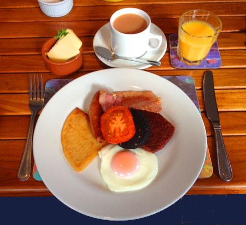 majestic line breakfast