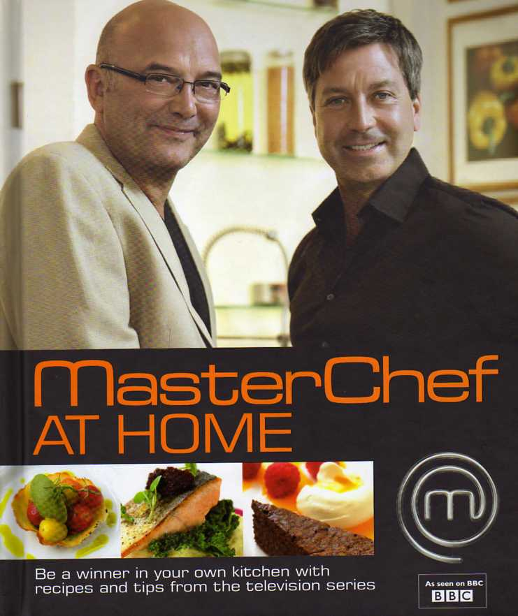 cookbook review MasterChef at Home