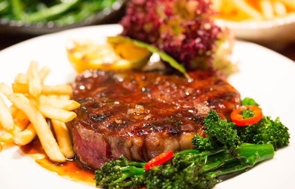 Mele e Pere steak