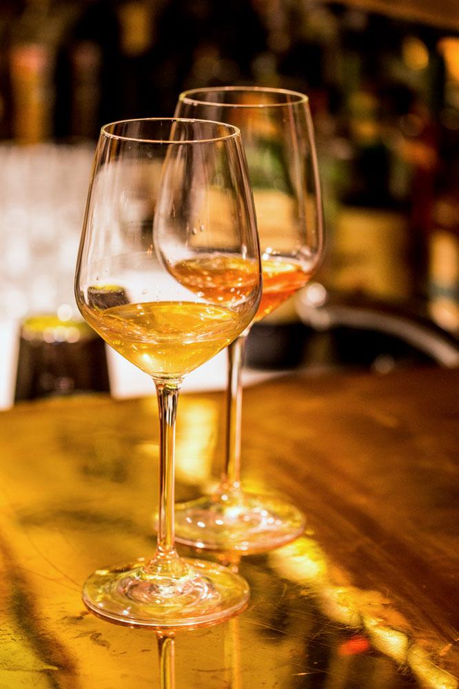 mele vermouth glasses