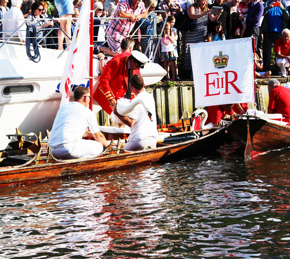 Swan Upping boat