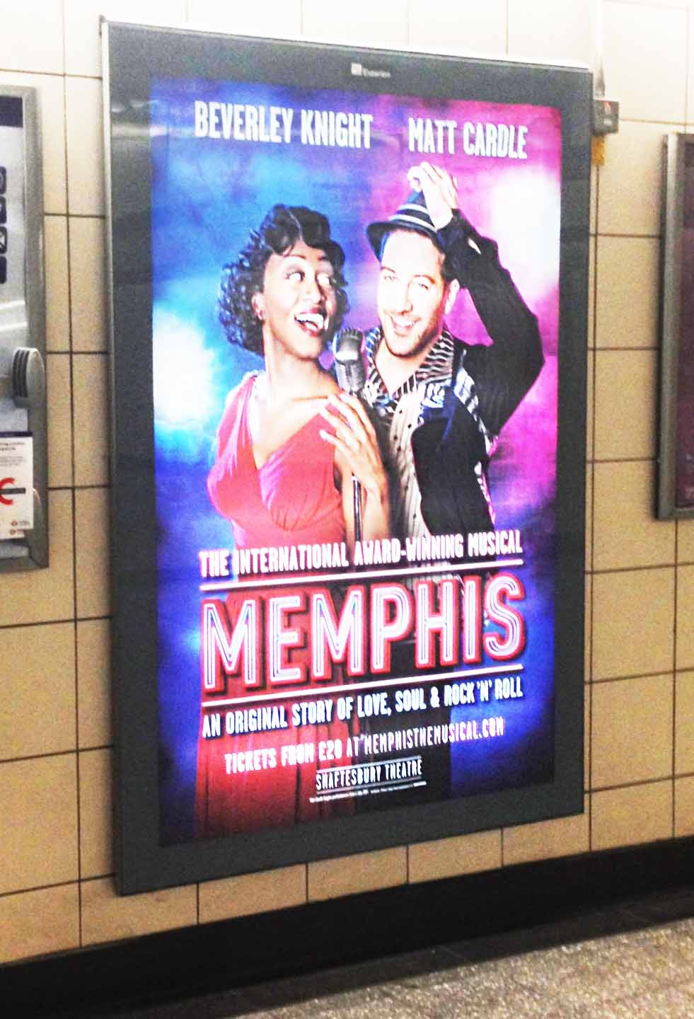 Memphis in London – theatre review
