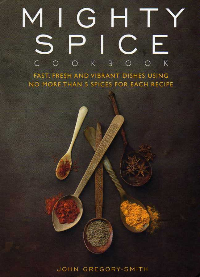 cookbook review Mighty Spice