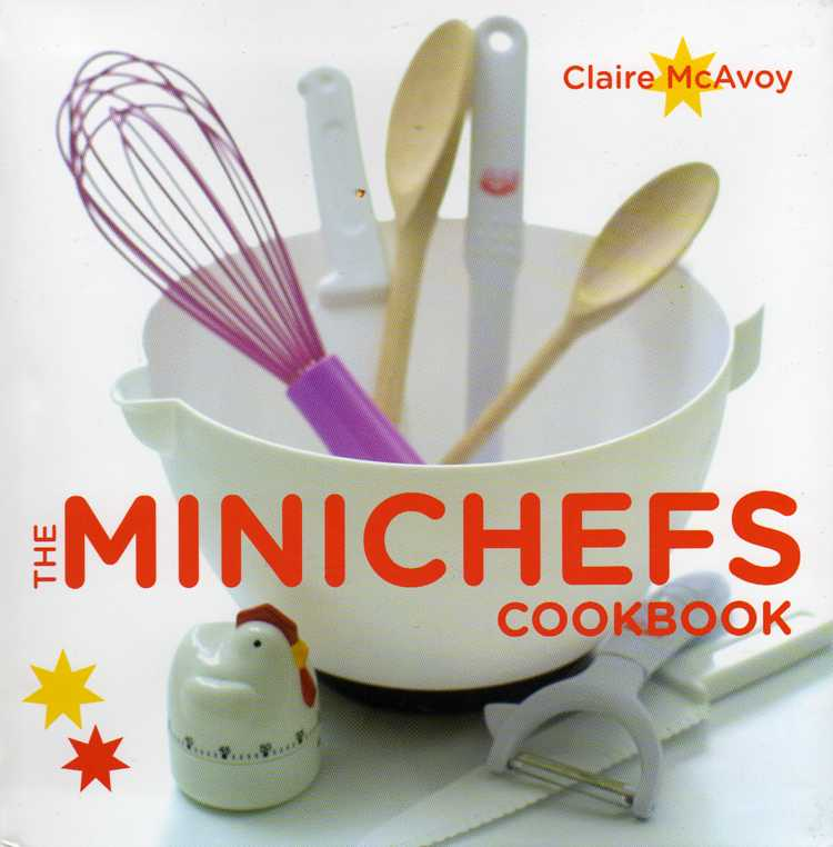The Minichefs Cookbook by Claire McAvoy – review
