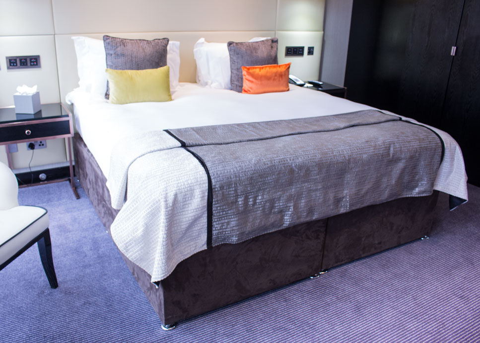 Montcalm Hotel bed
