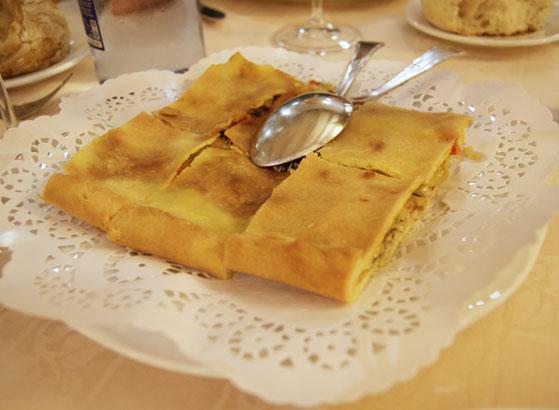 Vigo galicia restaurant empanada