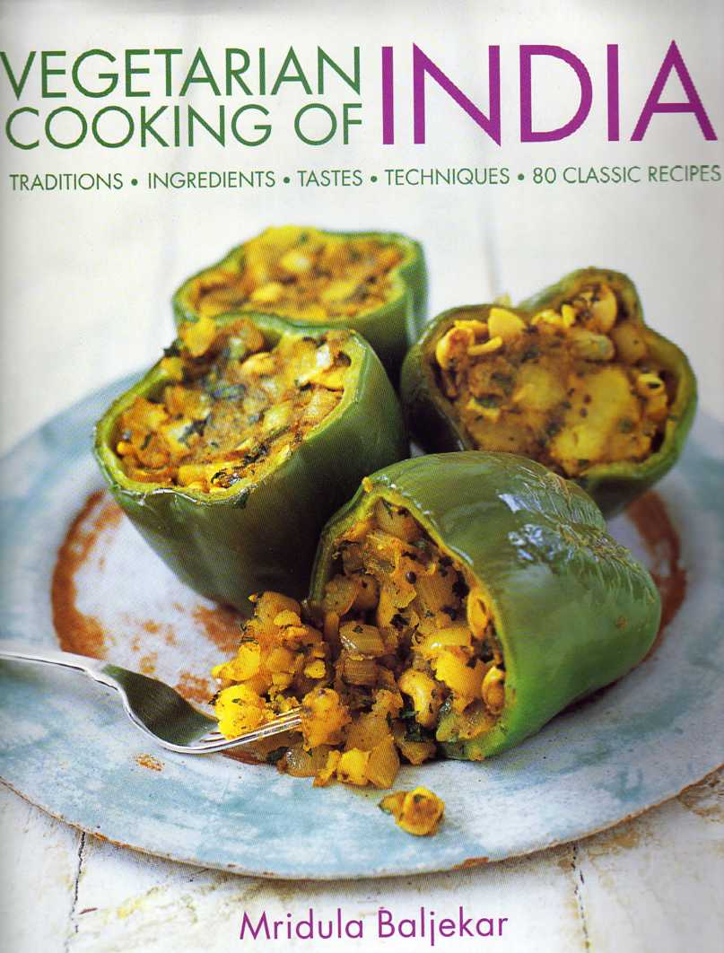 asian cookbook review Vegetarian Cooking of India