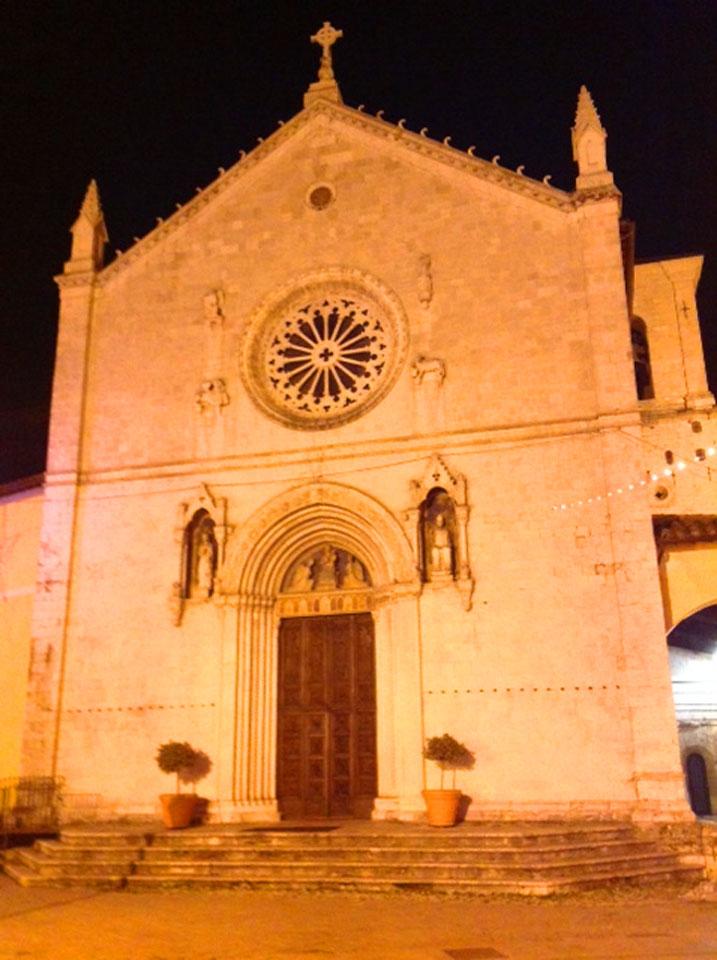 Norcia italy church
