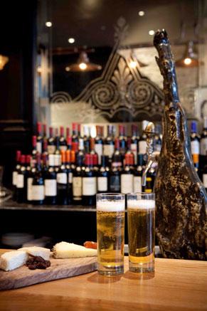 Opera Tavern bar