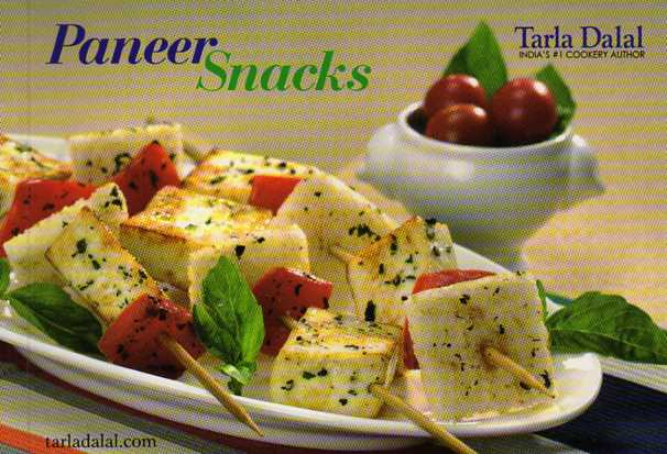 Paneer Snacks by Tarla Dalal – review