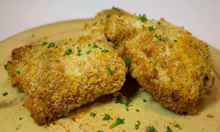 Crunchy Chicken (or Pork) with Yutaka Panko Breadcrumbs – recipe