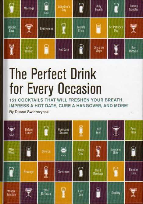 The Perfect Drink for Every Occasion by Duane Swierczynski – review