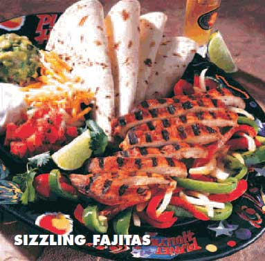 Restaurant review Planet Hollywood sizzling fajitas