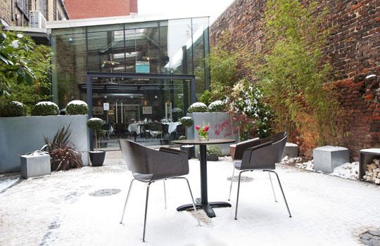 Portal Portuguese Restaurant garden