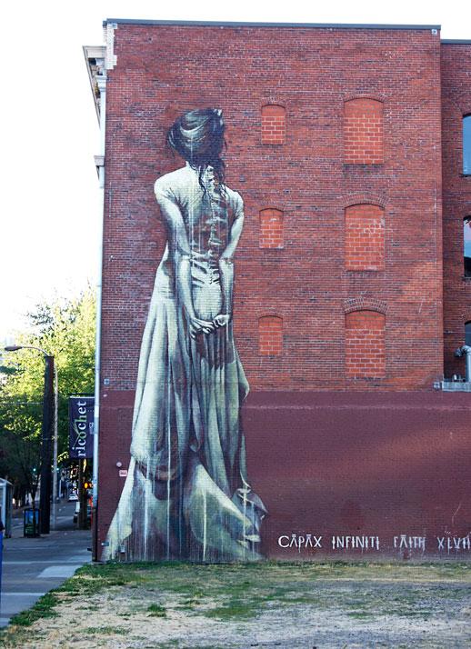 Portland, Oregon mural