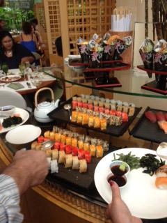 Ritz-Carlton sushi