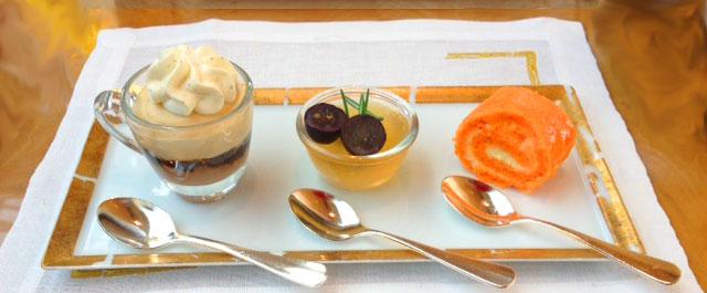 Ritz Singapore desserts