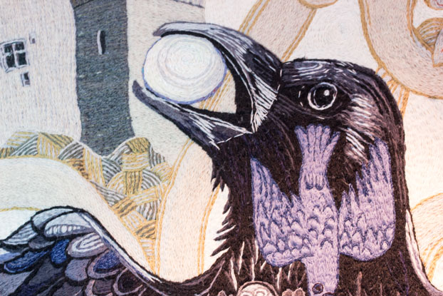 Roch Castle tapestry