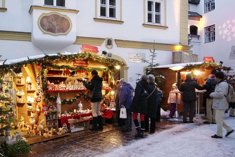 austrian Christmas market hotel review The Rosengarten