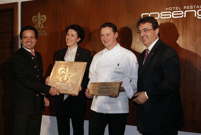 austrian the Rosengarten Relais award