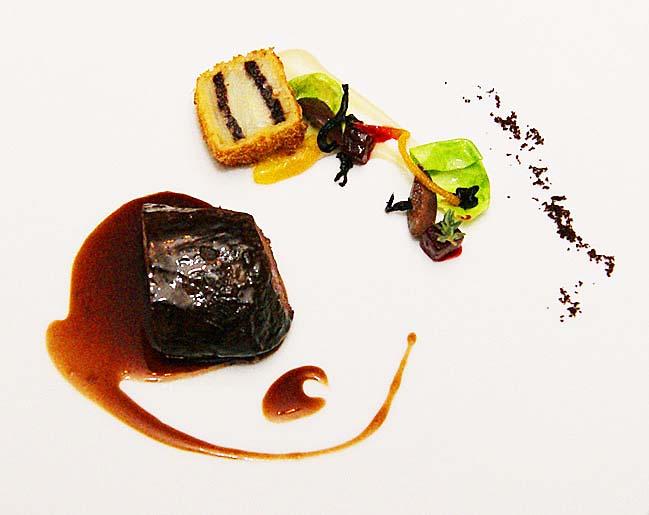 austrian restaurant the Rosengarten venison