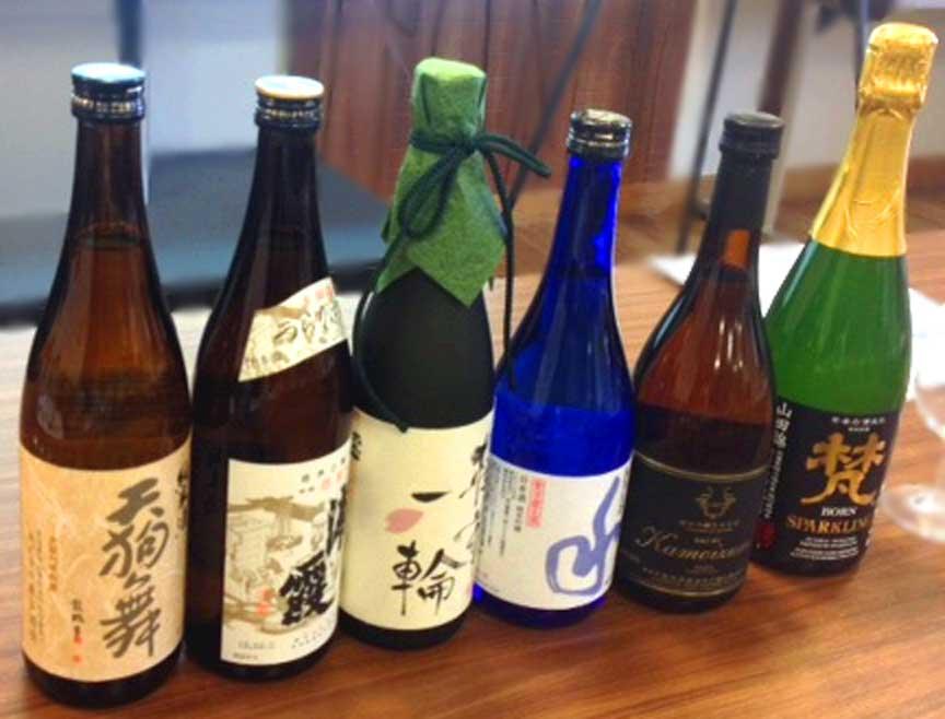 Sake in London? It's an education