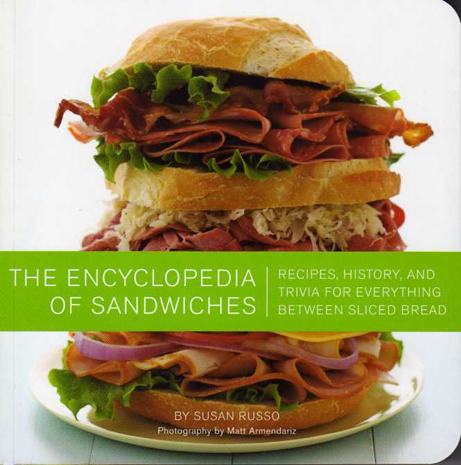 cookbook review The Encyclopedia of Sandwiches