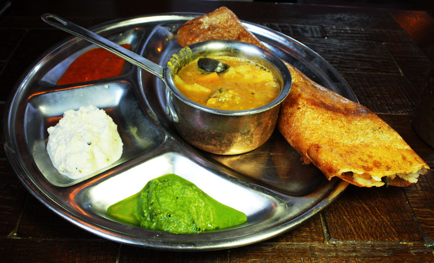 Sea spice dosa