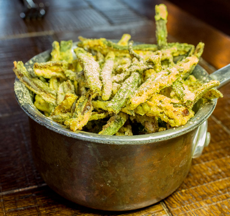 Sea spice okra