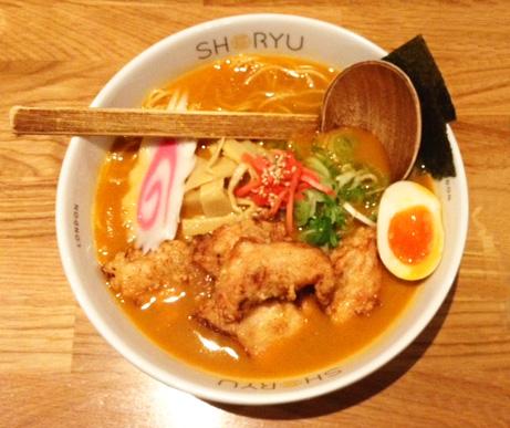 Shoryu Ramen soup