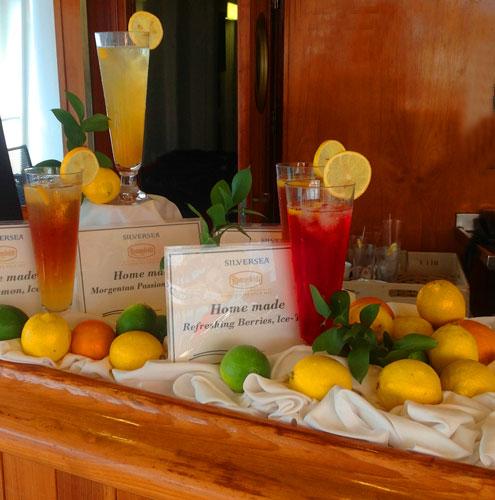 silversea cruise bar
