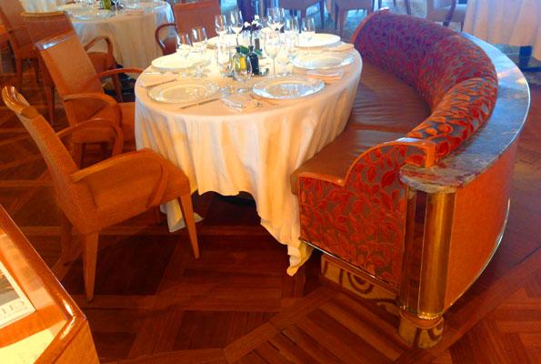 silversea cruise restaurant