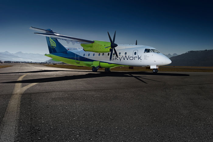 Southend Airport to Bern with SkyWork