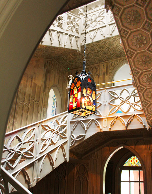 Strawberry Hill House stairs