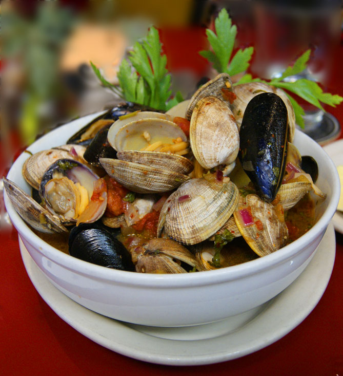 Southern Oregon shellfish