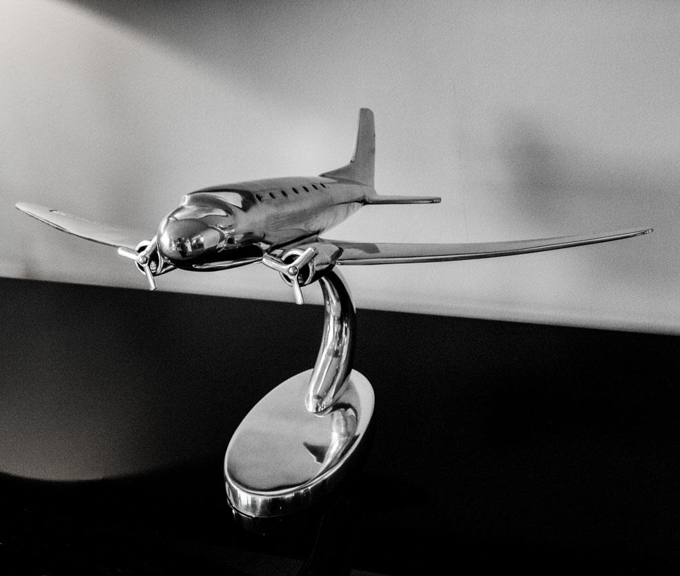 Brooklands Hotel aircraft