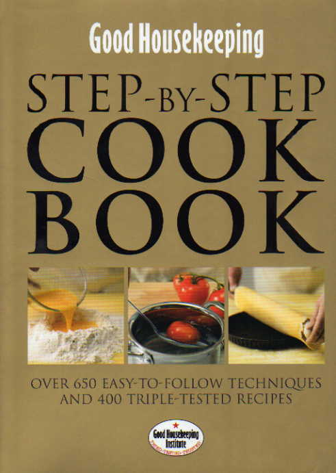 cookbook reviews Good Housekeeping Step-by-Step Cookbook