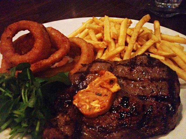 Sticky Fingers steak