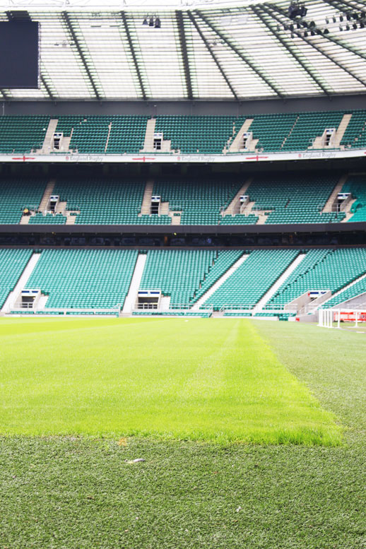 Twickenham stadium seats