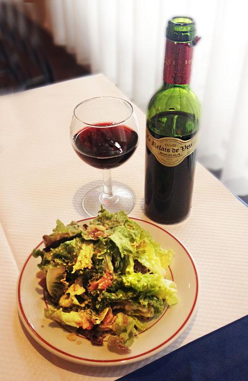 Relais de Venise L'Entrecôte wine