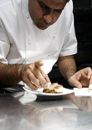 restaurant review Vivek Singh