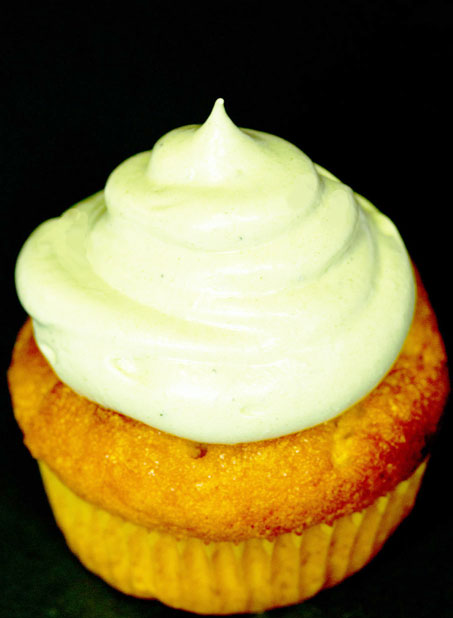 Yuzu Cupcakes with Matcha Tea Frosting – recipe