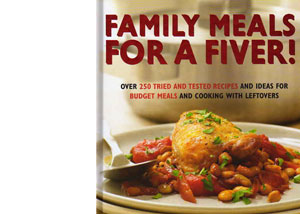 Family Meals for a Fiver – cookbook review