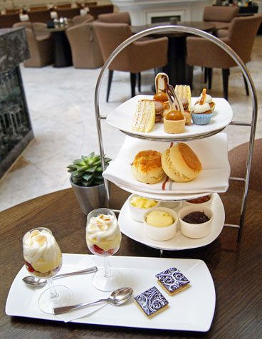 Andaz London for Afternoon Tea – restaurant review