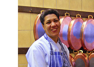 Chef Josiane Diaga at The French Horn – interview