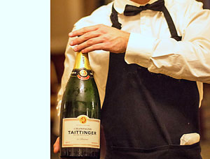 Champagne Taittinger at Luton Hoo – restaurant review